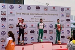 CRG and De Conto on the podium of KZ in Macau