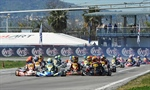 300 entered drivers in the fourth round of the WSK Super Master Series in Sarno (I)