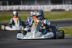 Marco Ardigò and Matteo Viganò on the podium of WSK Super Master Series in Sarno