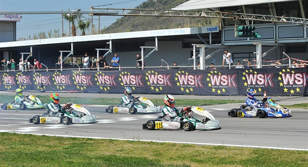 Livestreaming WSK Euro Series at the International Circuit of Napoli