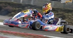 Enzo Peugeot's ambitious program in international karting and maiden victory in Genk