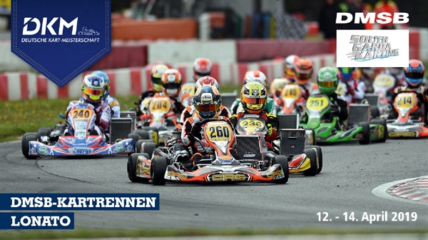 198 drivers start at DKM kick-off; German Kart Championship with participant record again