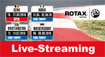 Live-streaming: Rotax MAX Challenge Euro Trophy Open in Genk