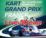 Sunday Live-streaming: FIA Karting OK and OK-Junior European Championships in Angerville