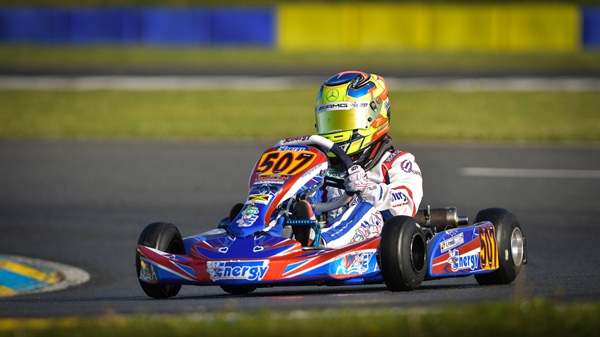 One win and two more top six results for Alex Powell