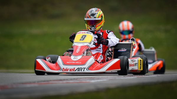 Brilliant start for Birel ART with two European podiums