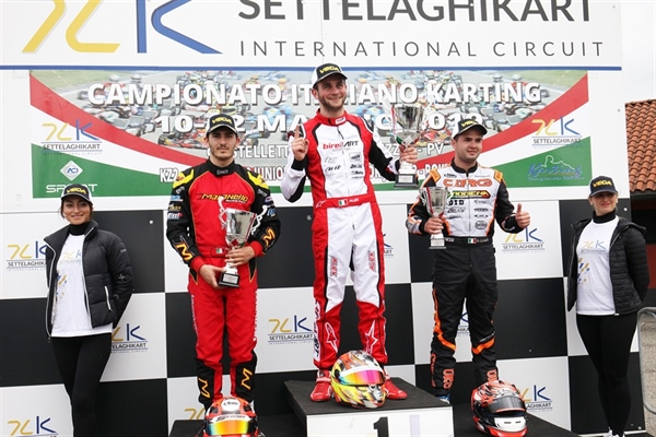 A spectacular weekend at the opener of the Italian ACI Karting Championship in Castelletto