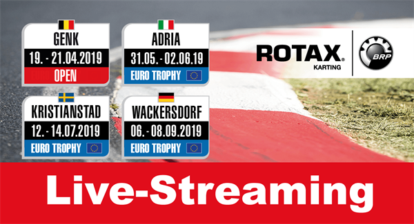 Live-streaming: Race 1 Rotax MAX Euro Trophy in Adria