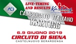 Livetiming and Results: 2e round of the Italian ACI Karting Championship in Siena