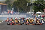 Great show at the second round of the Italian ACI Karting Championship in Siena with a record presence of 283 drivers