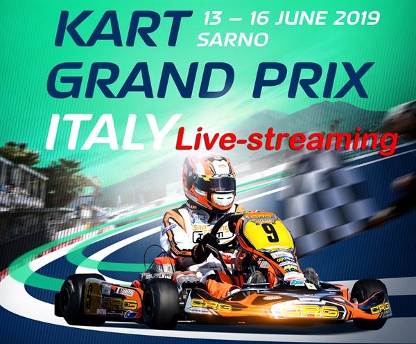 Livestreaming Sunday: FIA Karting European Championship – KZ & KZ2 (Round 2) & FIA Karting Academy Trophy (Round 2) in Sarno
