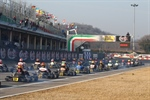 Over 310 entries to the third round of the WSK Euro Series at Lonato (I)