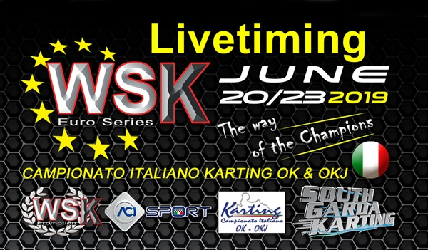 Livetiming and results of the Third round in WSK Euro Series at Lonato (I)