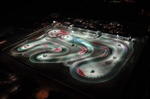Timing practice at the WSK Euro Series - Night Event 4th round in Adria (I)