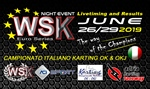 Livetiming and results of the WSK Euro Series Night Event at the Adria Karting Raceway