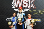 Travisanutto (OK), Antonelli (OKJ) and Al Dhaheri (60Mini), together with Ardigò (KZ2) are the winners of the 2019 WSK Euro Series
