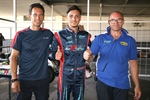 The third round of the Italian ACI Karting Championship got underway in Sarno with the first protagonists in pole position