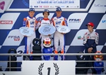 Parolin Racing Kart in Le Mans - Another victory in OK and promise in Junior