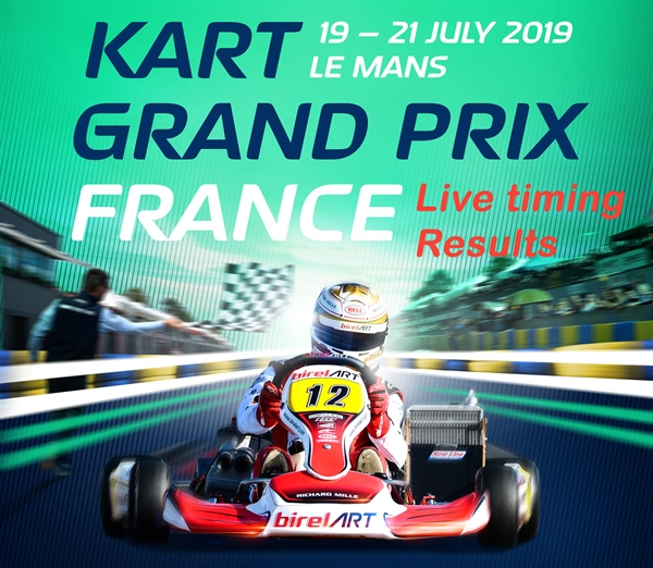 Live Timing: The European battle in OK and OK-Junior at Le Mans in France