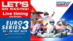 Livetiming and Results of round 3 Euro Series 2019 in Wackersdorf / Germany