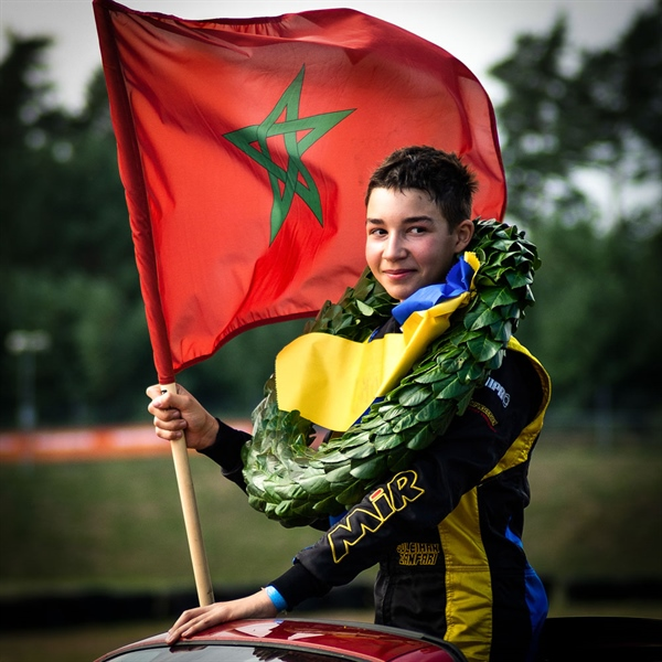 Suleiman Zanfari, 2019 Swedish OK-Junior Champion
