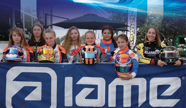 Wins the Ladies Cup... and goes to measure the 143 best world drivers at the 2019 IAME International Final !!
