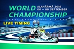 LIVE TIMING: FIA 2019 Karting World Championship at the Alahärmä Powerpark circuit, Finland