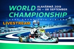 SATURDAY LIVESTREAM: FIA 2019 Karting World Championship at the Alahärmä Powerpark circuit, Finland