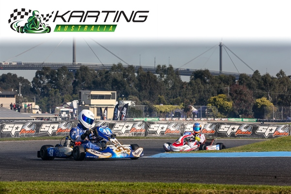 Australian Karting's Grand Final is underway in Melbourne