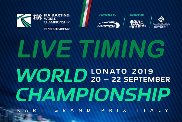 Live timing: FIA Karting World Championship - KZ, FIA Karting International Super Cup (KZ2) & FIA Karting Academy Trophy at Lonato