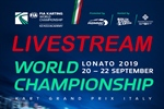 Livestream: FIA Karting World Championship - KZ, FIA Karting International Super Cup (KZ2) & FIA Karting Academy Trophy at Lonato