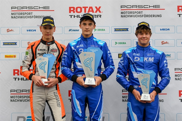 "Rotax Thunder! Jort Coone charges to the podium at the DEKM in Ampfing: ""It was really a good feeling for me!"""