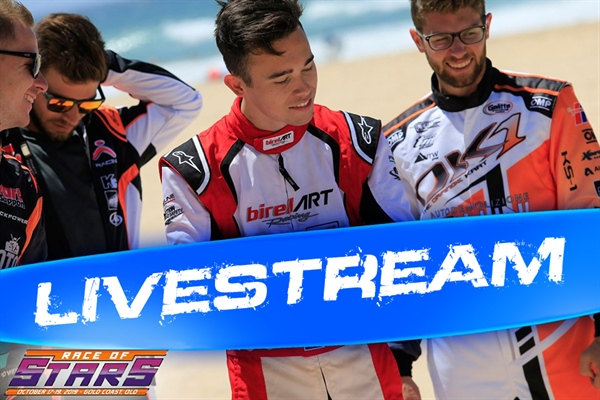 Livestream of the 2019 Race of Stars on Queensland's Gold Coast