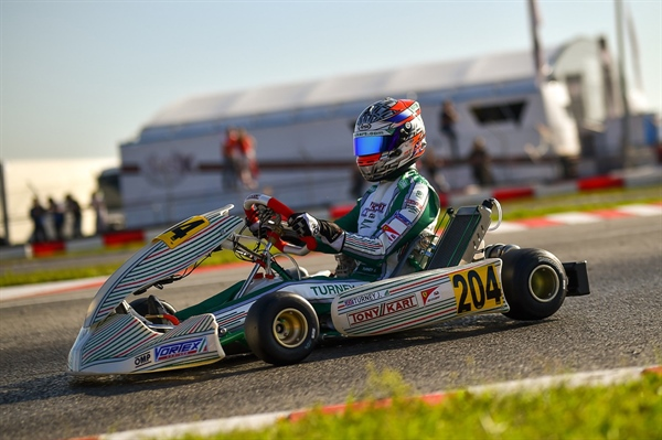 Turney on the podium at First appointment of the WSK Open, good races for Hiltbrand and Travisnutto on Tony Kart