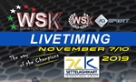Livetiming of the final sprint for the WSK Open Cup.