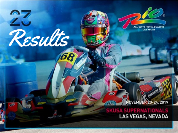 Results of the SKUSA Supernationals at Las Vegas, Nevada