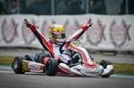 Victory Parolin Racing Kart at Adria in the European season opener