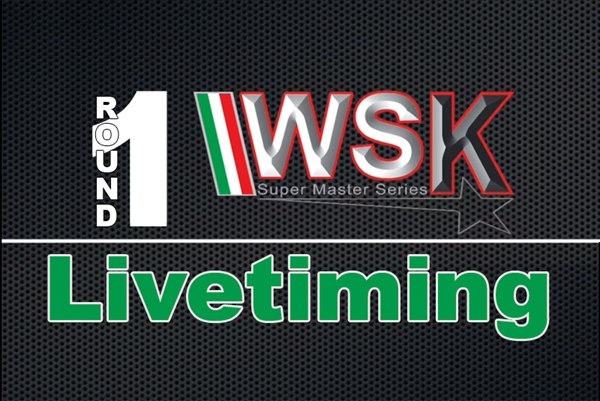 Live timing: The First Round of the WSK Super Master Series at Adria Karting Raceway