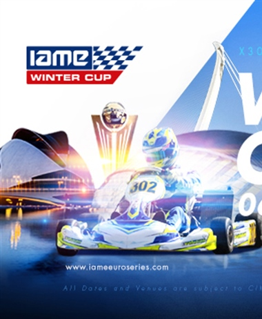 Livestream of the IAME Winter Cup in Valencia