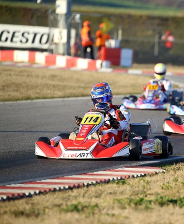 The 25th Winter Cup is underway in Lonato with more than 300 drivers...