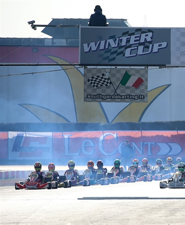 301 drivers hunting for glory in Lonato at the 25th Winter Cup
