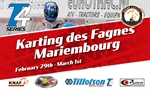 TILLOTSON T4 Series Netherlands: official KNAF NK starts at Karting des Fagnes in Mariembourg, Belgium