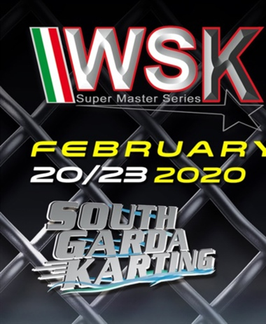 More than 360 entered drivers in Lonato for the second race of WSK...