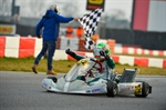 Joseph Turney wins the 25th edition of the Winter Cup ahead of Lorenzo Travisanutto