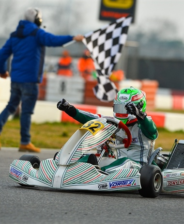 Joseph Turney wins the 25th edition of the Winter Cup ahead of Lorenzo...
