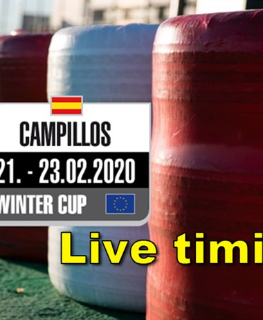 Live timing of the Rotax Max Challenge Trophy Winter Cup at Circuito...