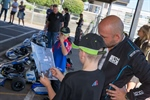 Karting Australia: Karting kids coach celebrity drivers in grand prix challenge
