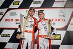Birel ART Racing team confirmed its incredible level of performance in the WSK Super Master Series with a victory