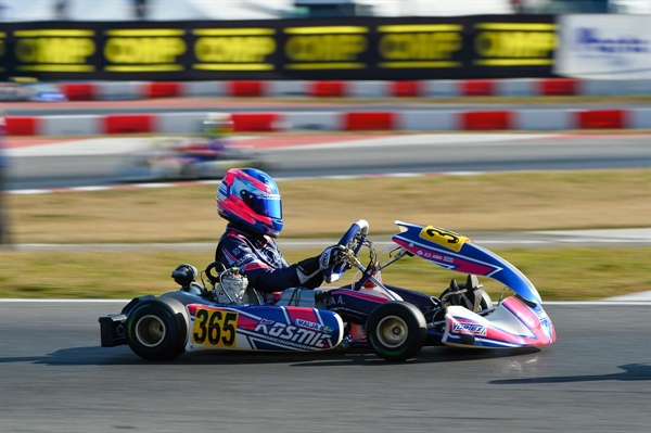 Positive performances for Kosmic at the WSK Super Master Series