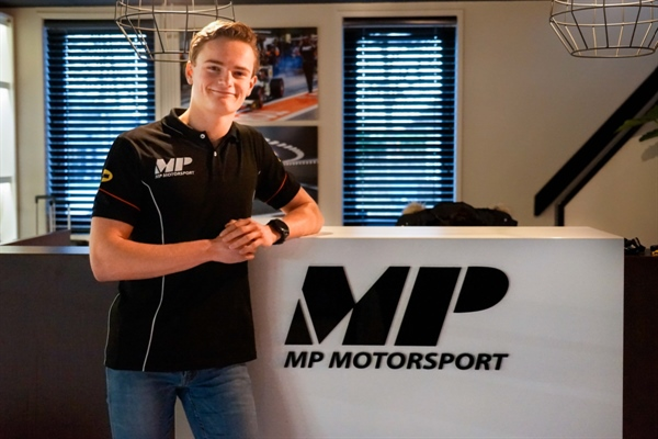 Former German Kart Champion Bent Viscaal with MP Motorsport in FIA F3 Championship